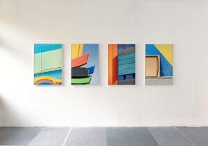 Exhibition 'View', installation view, BBK Nuremberg, 2020